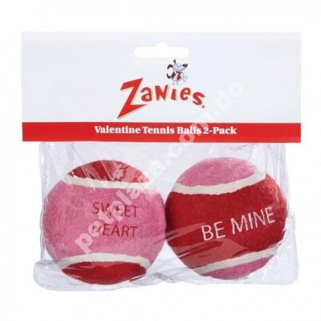 Zanies® Valentine Tennis Balls