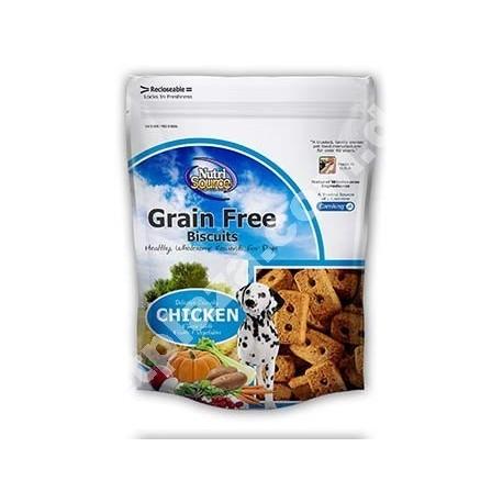 NutriSource® Grain Free Chicken Biscuits