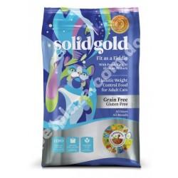 Solid Gold® Fit as a Fiddle™ Con Abadejo Alaska Alimento Seco Para Gatos