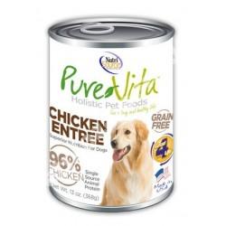 NutriSource® PureVita™ Grain Free Chicken Entrée Enlatado