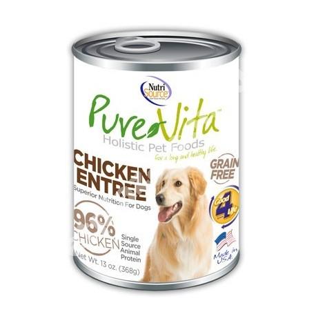 NutriSource® PureVita™ Grain Free Chicken Entrée Canned