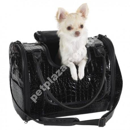 Zack & Zoey™ Croco Pet Carrier