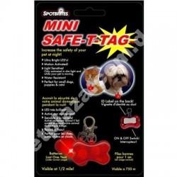 SportBrites® Safe-T-Tag Pet Collar ID Tag