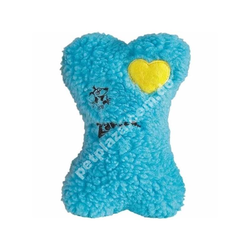 Zanies Embroidered Heart Berber Bone