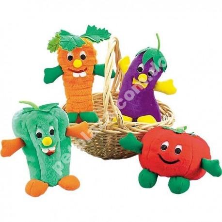 Zanies® Giggling Veggie Dog Toys
