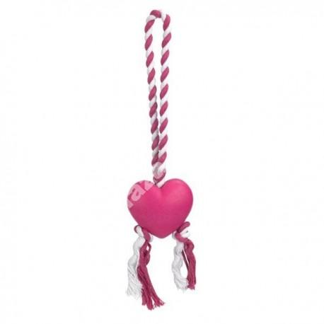 Zanies® Heart String Tug Dog Toys