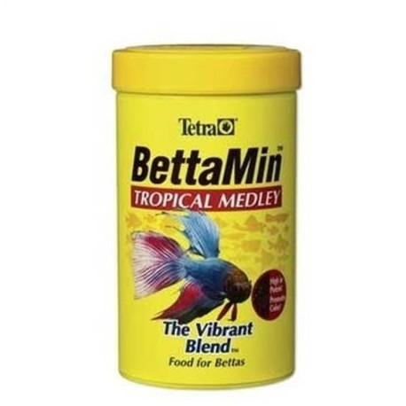 Tetra® BettaMin Flakes - Tropical Medley Fish Food